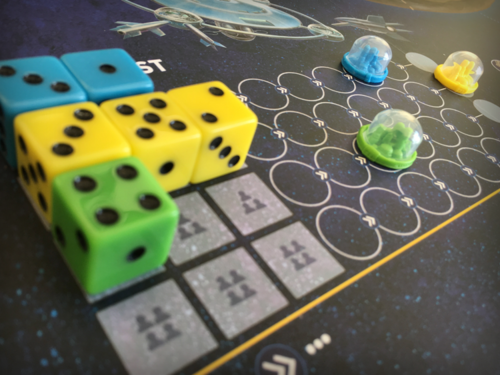 Prepare your colonies to launch and settle on the mysterious planet below