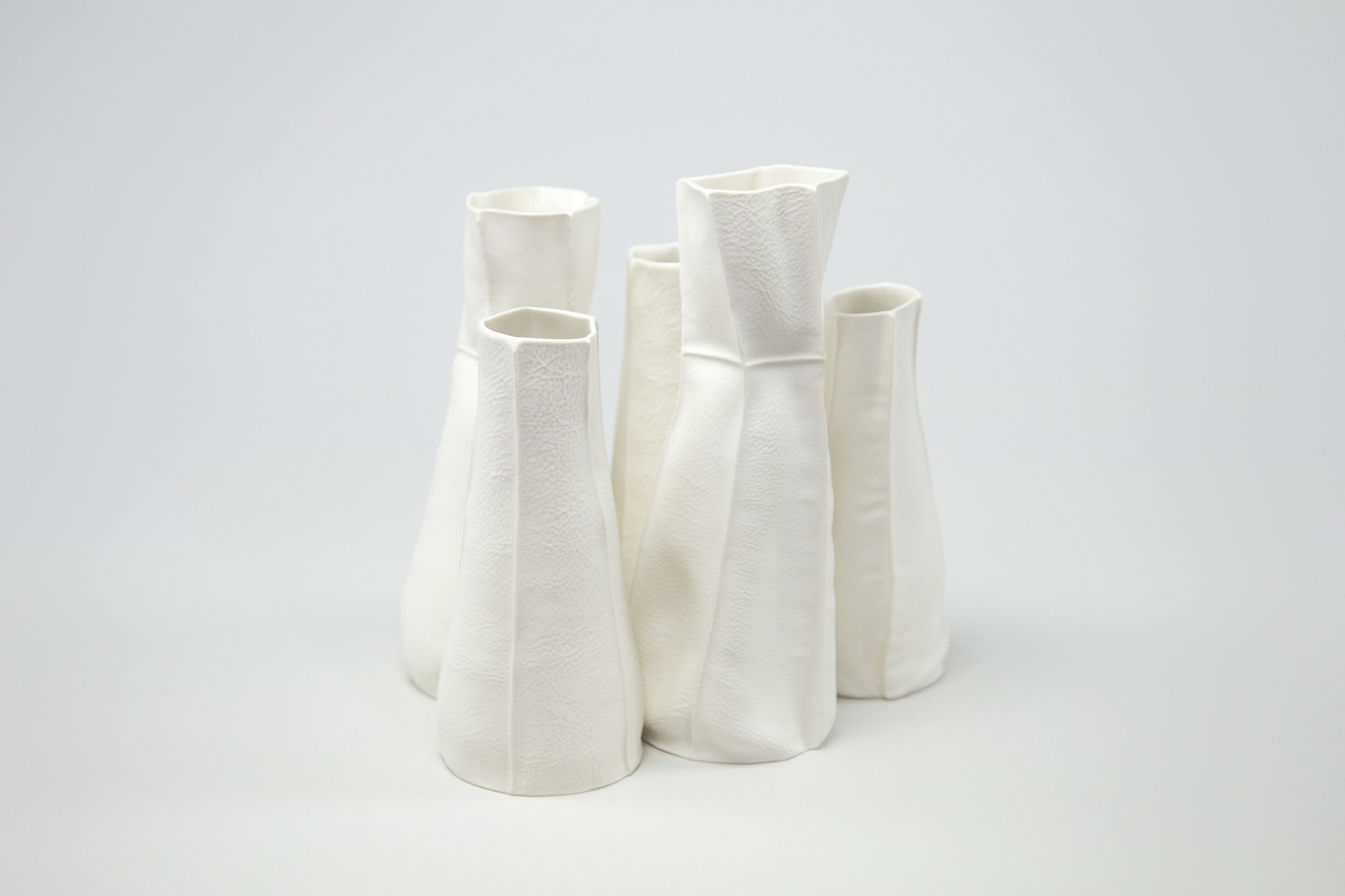 Kawa Series - One of a kind porcelain objects