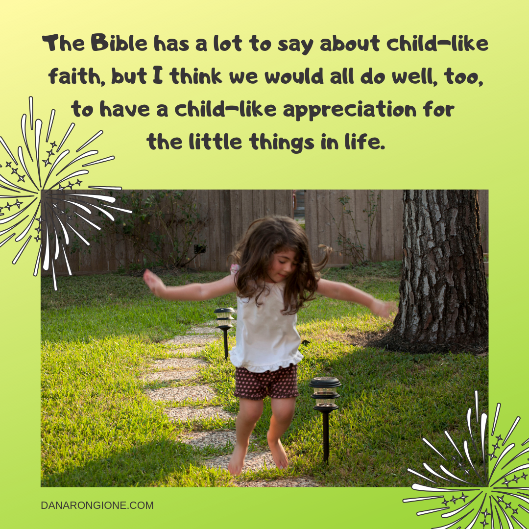 The Bible has a lot to say about child-like faith, but I think we would all do well, too, to have a child-like appreciation for the little things in life.-2.png
