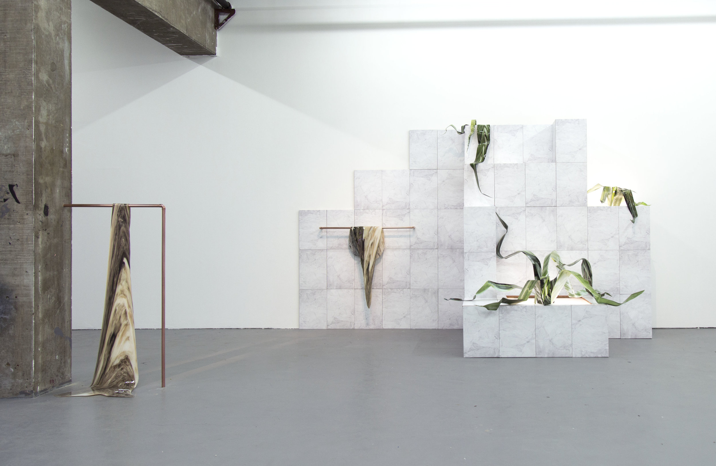 Figure 4: Courtesy of Felicity Hammond,  You Will Enter an Oasis,  2015, Installation View