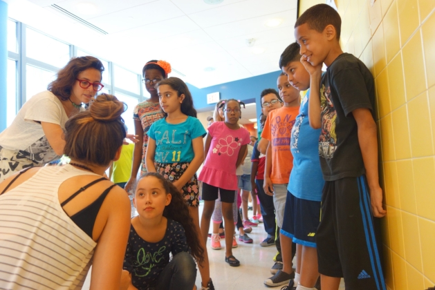Shine on in Schools at the Ampark School, Bronx, June 2016