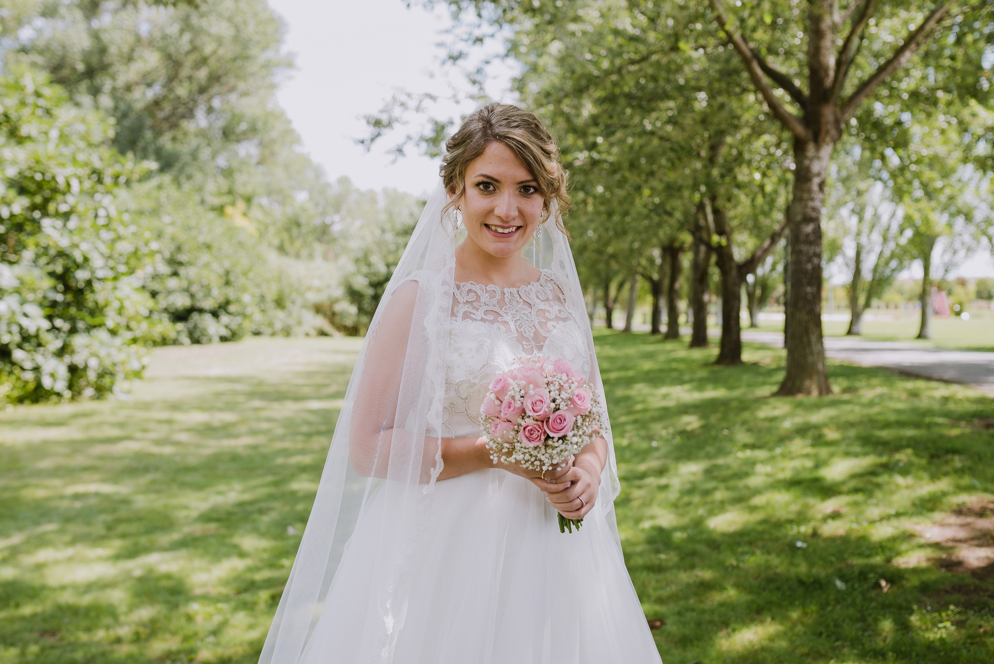 novia postboda retrato parque ebro logroño