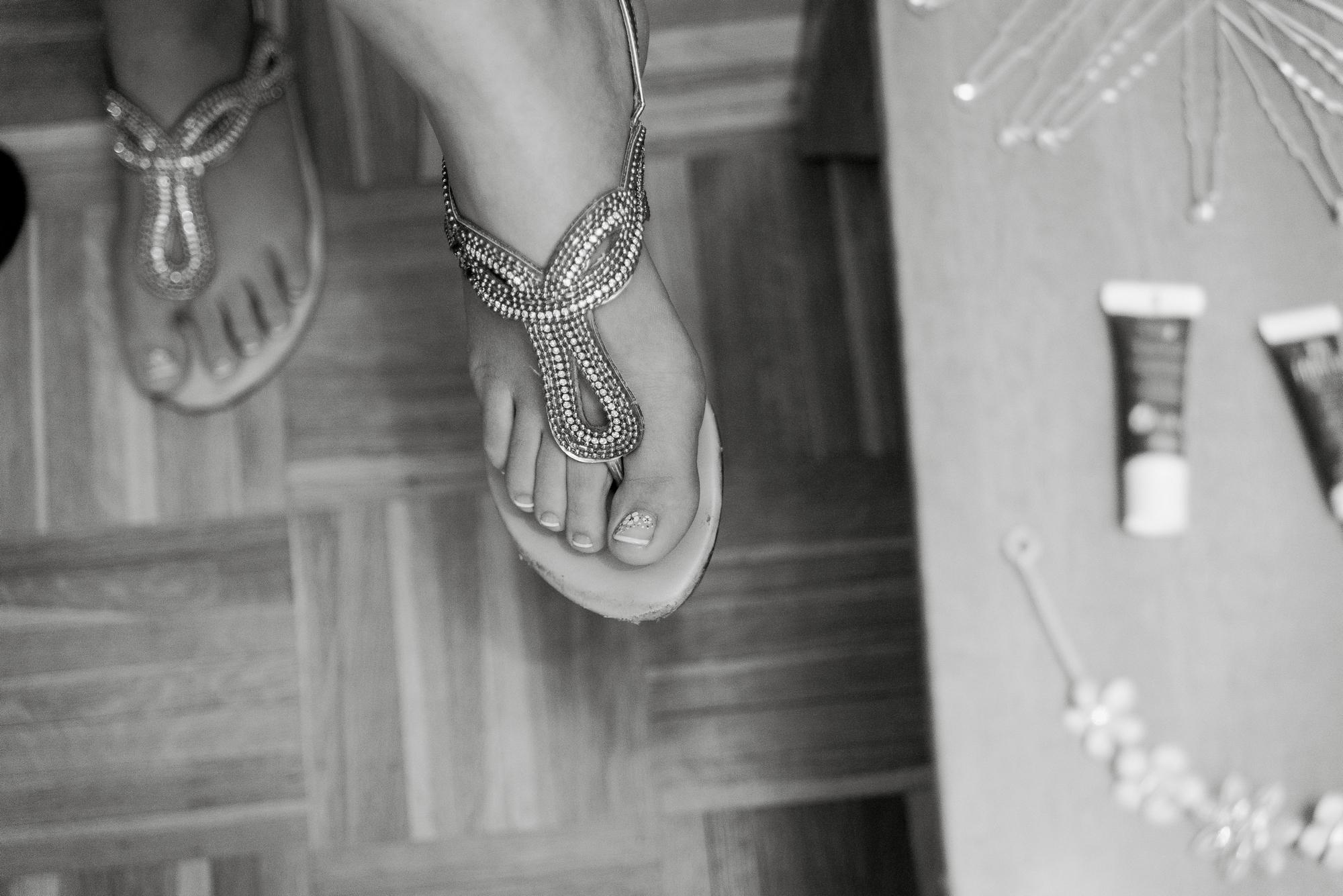 novia en preparativos boda valvanera logroño