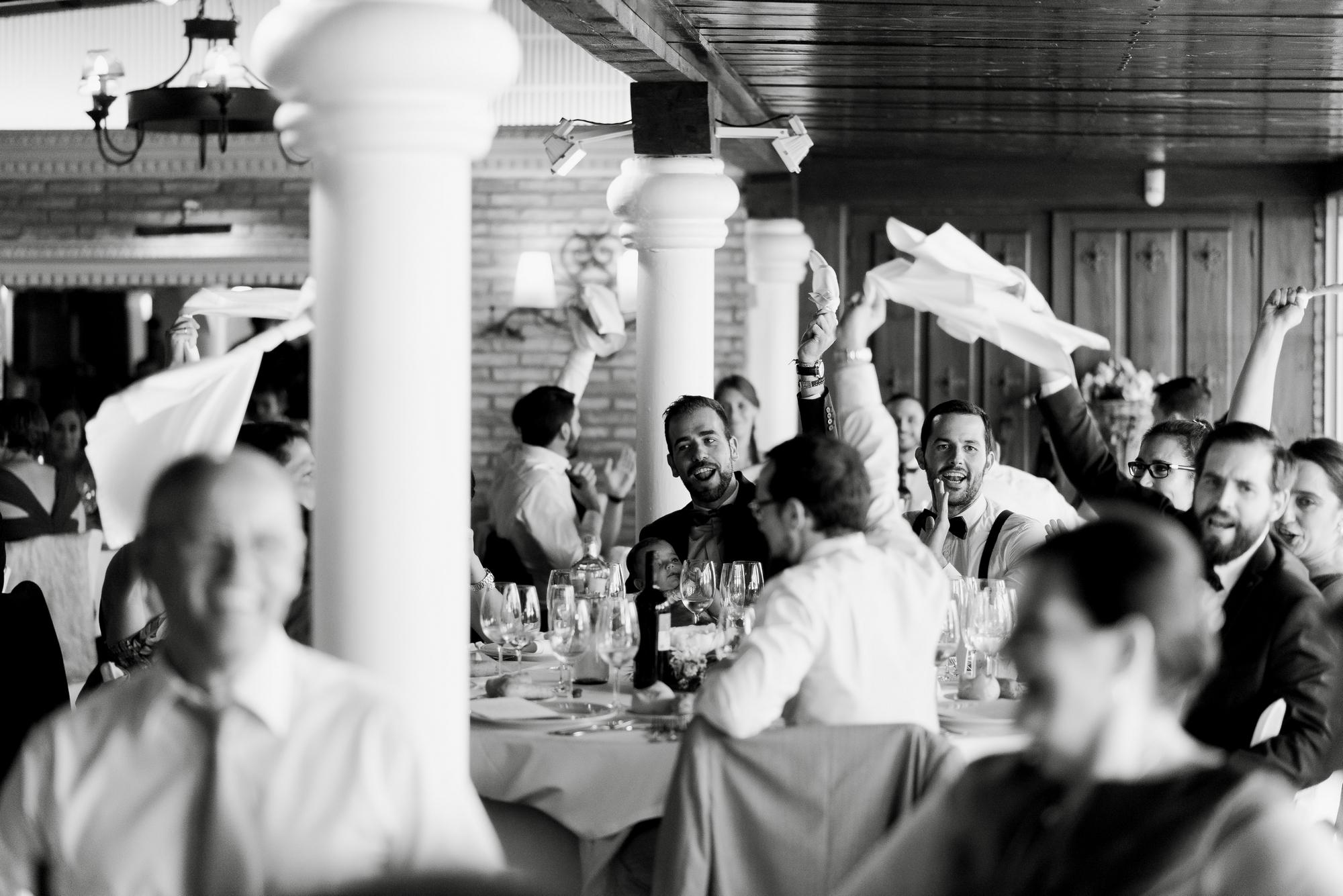 novios restaurante barros boda logroño