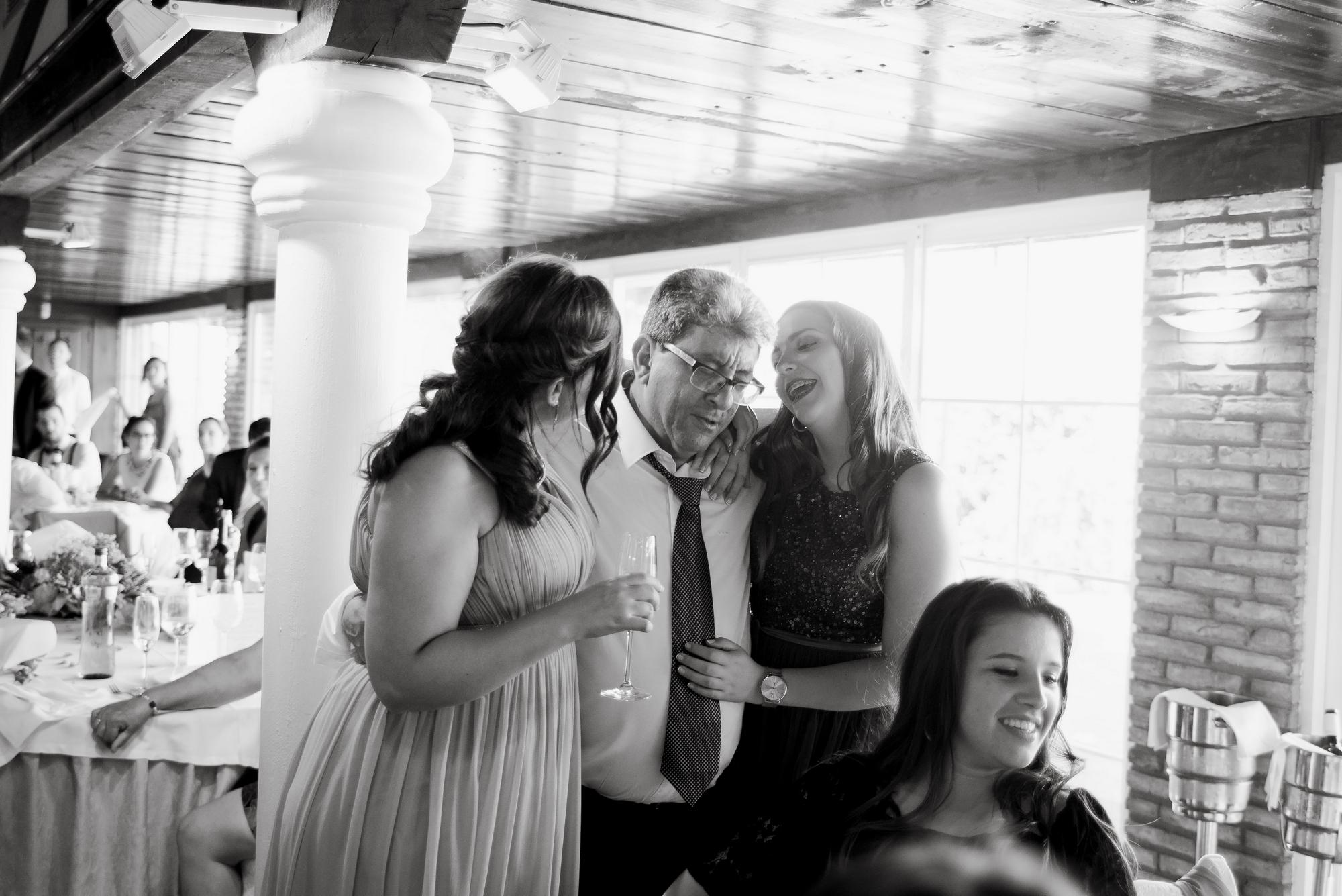 familia novia boda restaurante barros logroño