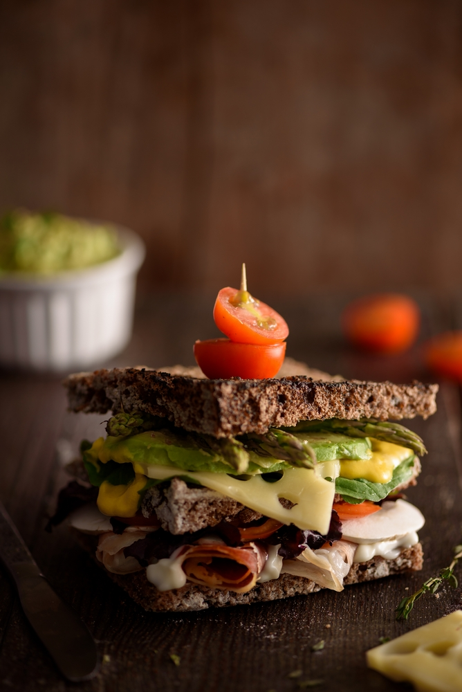 la bomba fotografia sandwich gastronomia quesito