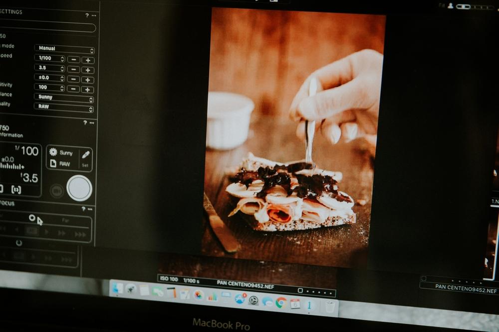 fotografía gastronómica la bomba bodas trizyjuan imac