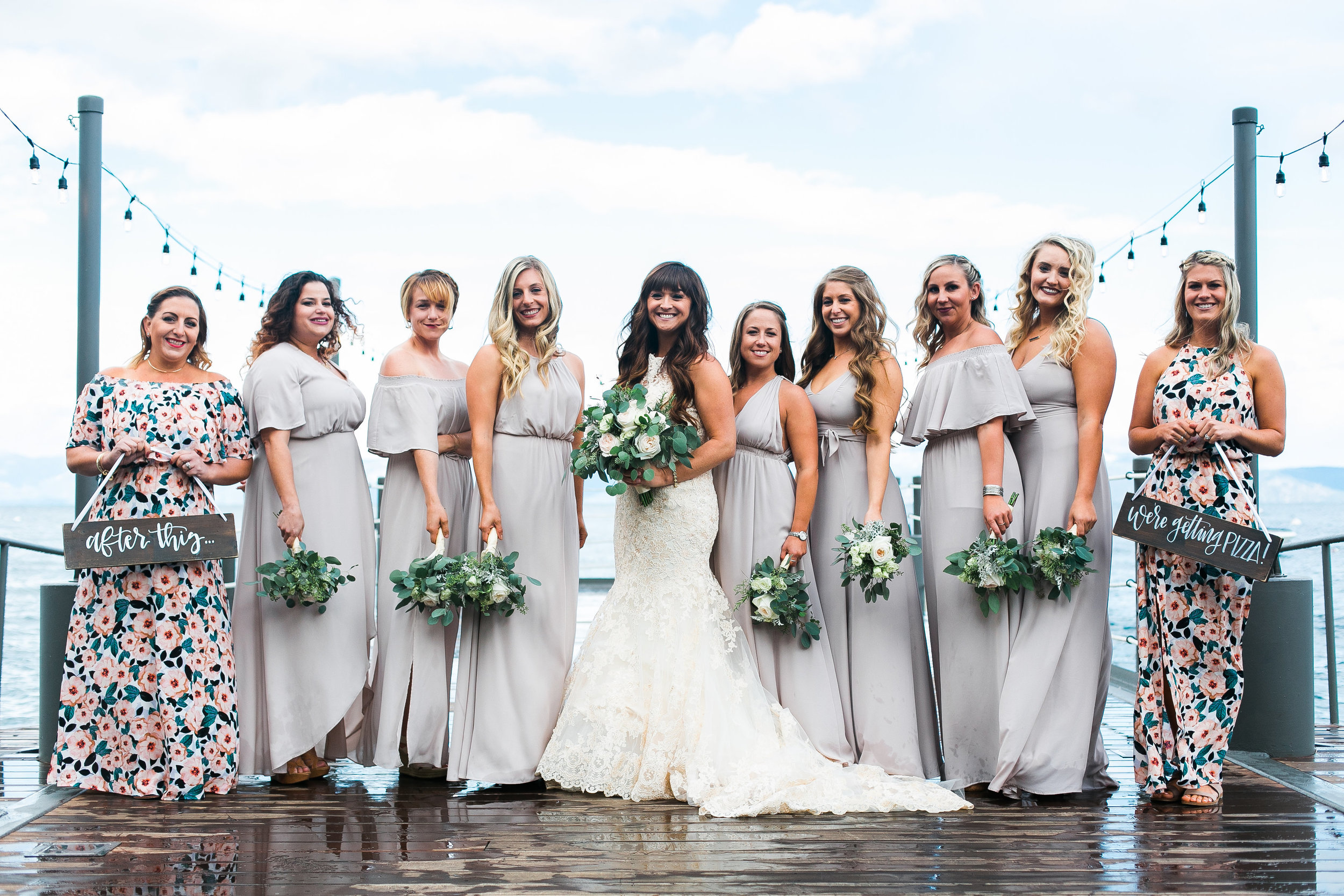 Fun fact: I've known most of my bridesmaids for 10 years. Each of them are such an important part of my life and it meant so much to me to have them by my side.