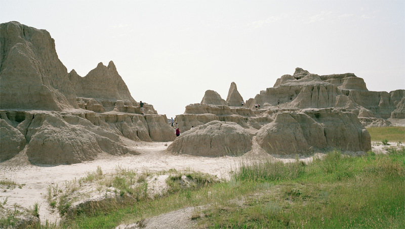 Andrew Schroeder,  Badlands Crowds - Near Badlands National Park, SD , 2008.