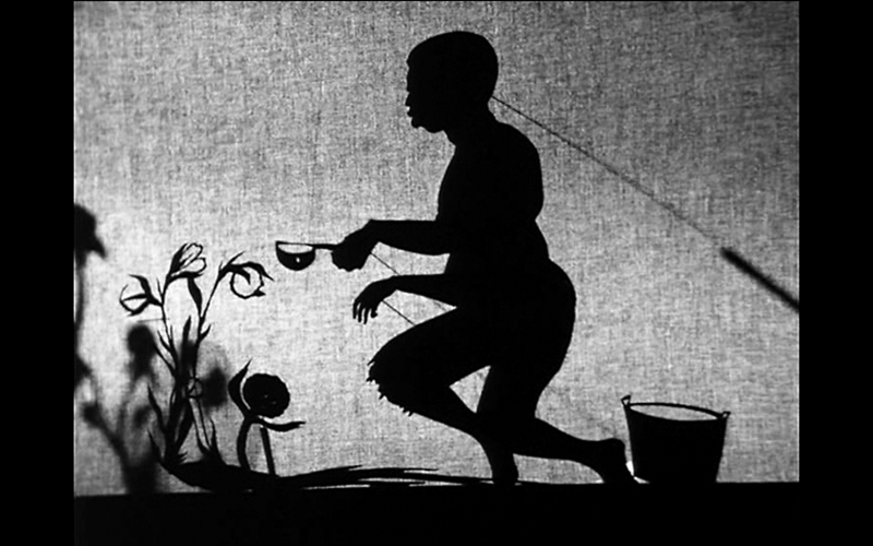 Kara Walker, still from  8 Possible Beginnings or: The Creation of African-America, a Moving Picture by Kara E. Walker , 2005. 16mm film and video transferred to DVD, 15 min 57 sec. Courtesy the artist and Sikkema Jenkins & Co, New York.