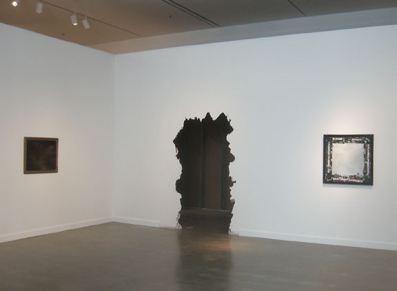 David Lefkowitz, exhibition view of  Gallery View,  2009, Rochester Art Center.