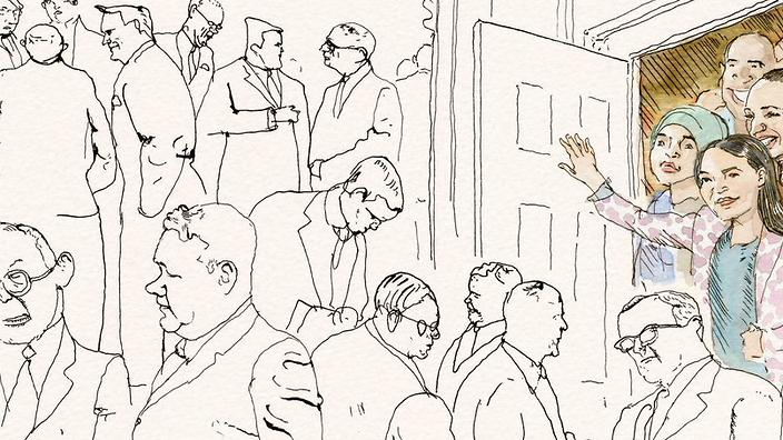 """""""Welcome to Congress,"""" Cover Art from The New Yorker"""