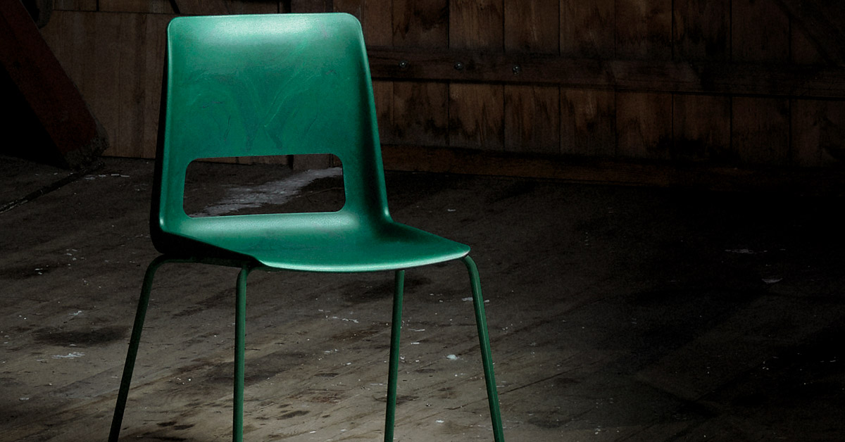 This is the S-1500 chair, developed by the architecture and design firm Snøhetta for the furniture producer  Nordic Comfort Products  (NCP).