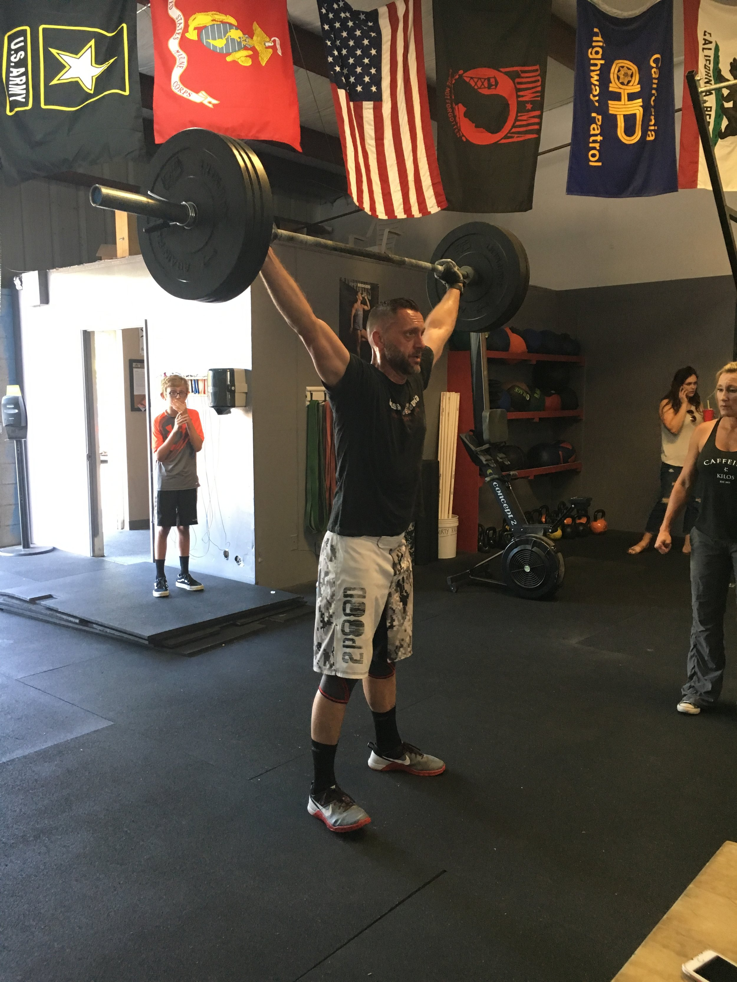 Mike Postma, Coach - I have been doing CrossFit for 6 years.I have been coaching for 5 years.I love connecting with others through fitness and the extra motivation of being surrounded by other athletes during a workout.Ice cream!CrossFit Level 1 trainer and CrossFit kids certification
