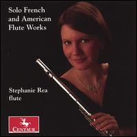 SOLO FRENCH AND AMERICAN FLUTE WORKS includes my composition,  Arca Sacra  for flute solo Centaur Records (CRC 2759)