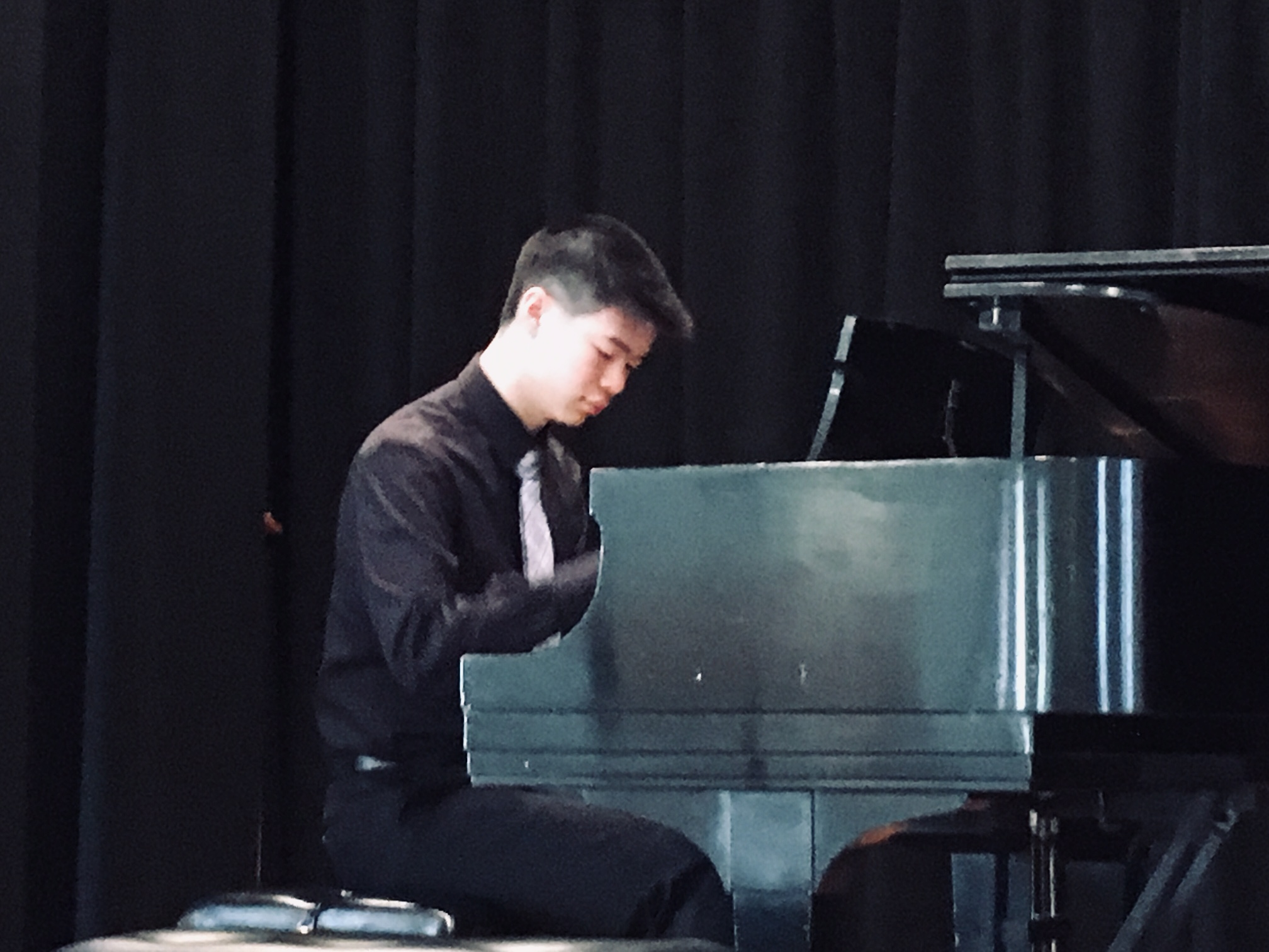 Ryan Chi - Patron of the Arts - 2nd PrizeRyan has won numerous competitons including the Golden Era of Romantic Music Competition and the Virtuoso Internation Competition. He has performed at the Junior Bach Festival on piano, violin, cello and organ.Ryan's teacher is Erna Gulabyan.