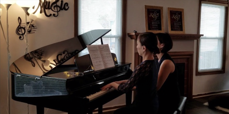 Ballet from Orphee et Eurydice  Christoph Willibald Gluck played by Piano Duo