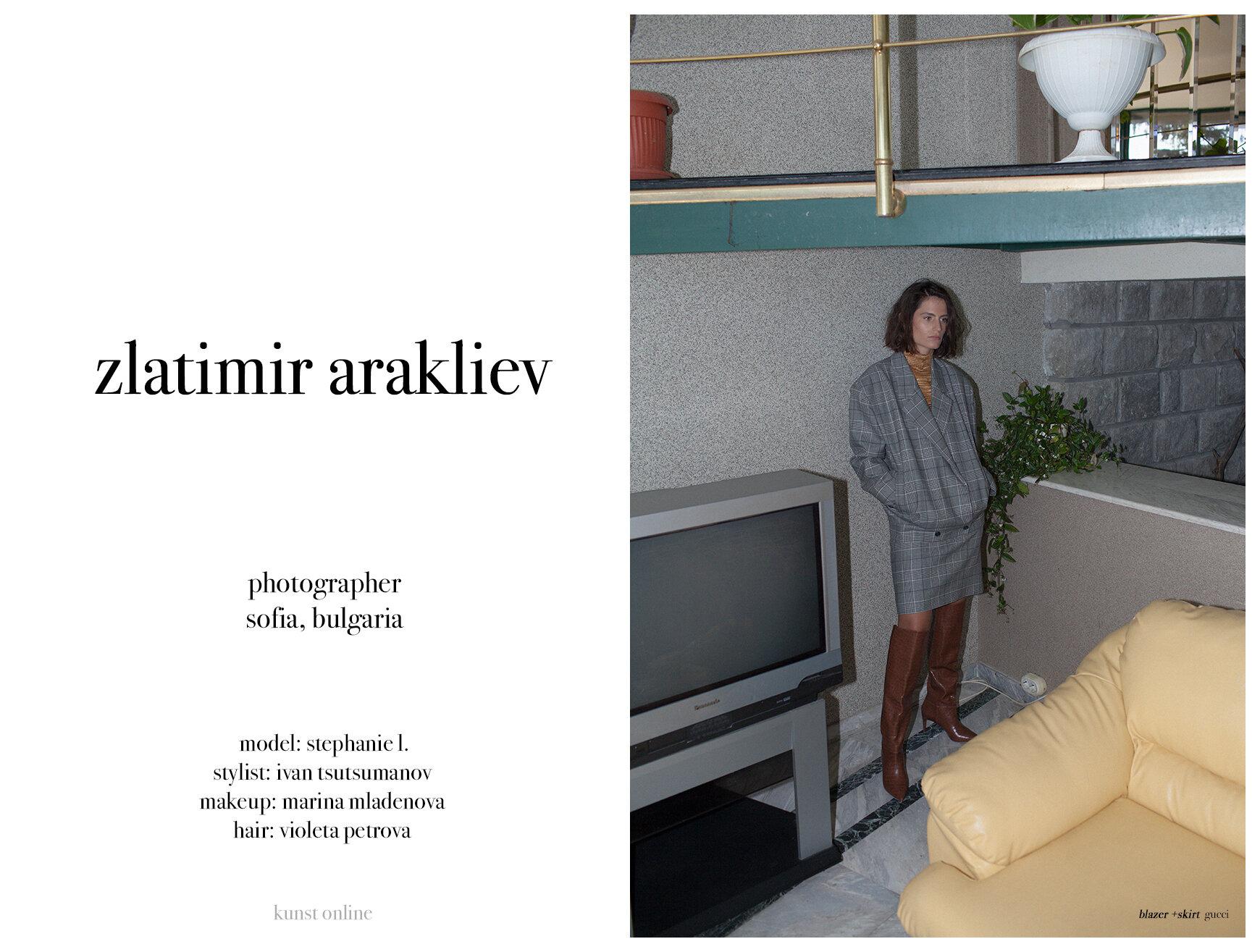 Zlatimir Arakliev The Kunst Magazine
