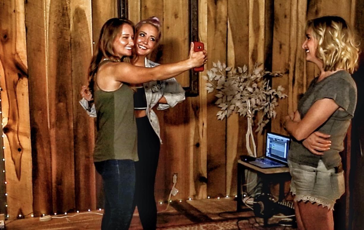 taking a selfie on a studio tour copy.jpg