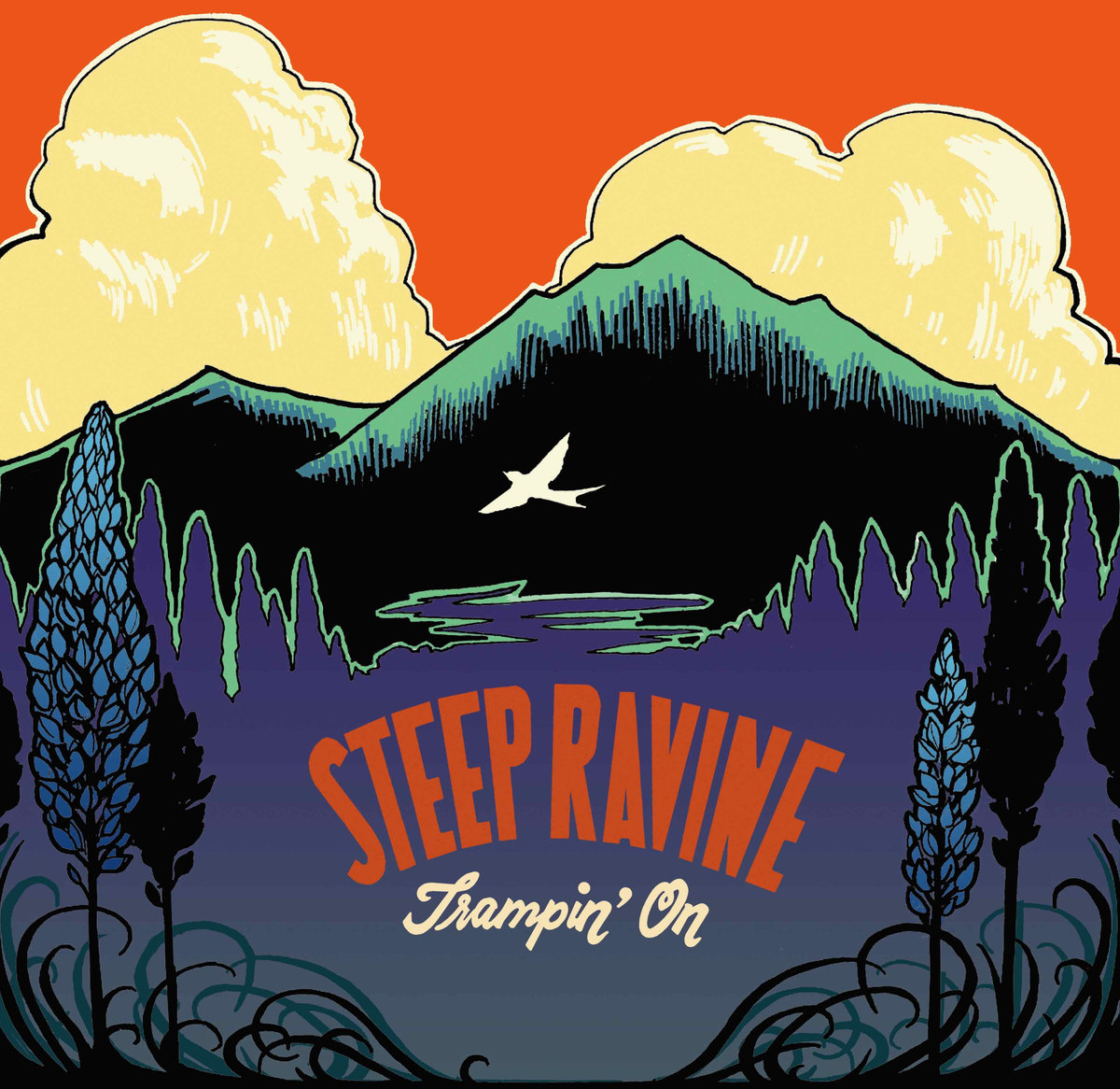 Steep Ravine Trampin On Cover.jpg