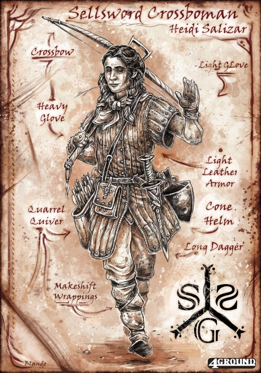 Sell Sword Guild : Heidi Salizar