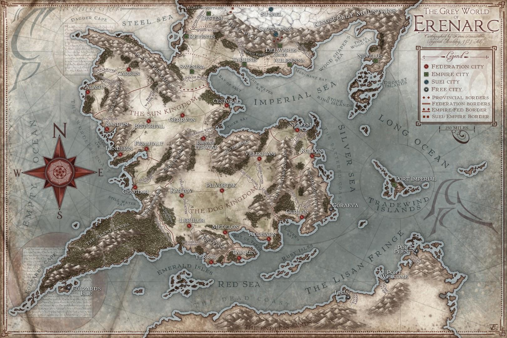 The Grey World of Erenarc