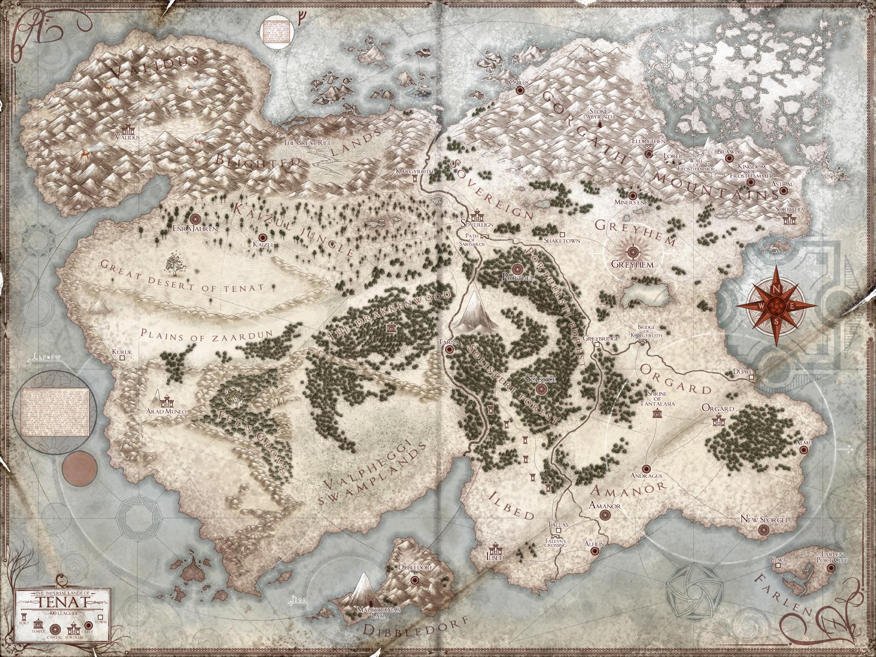 The Lands of Tenat