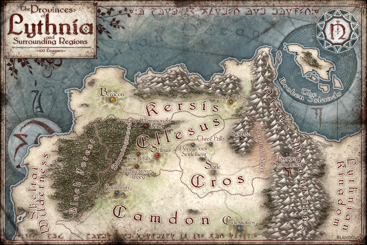 The Provinces of Lythnia