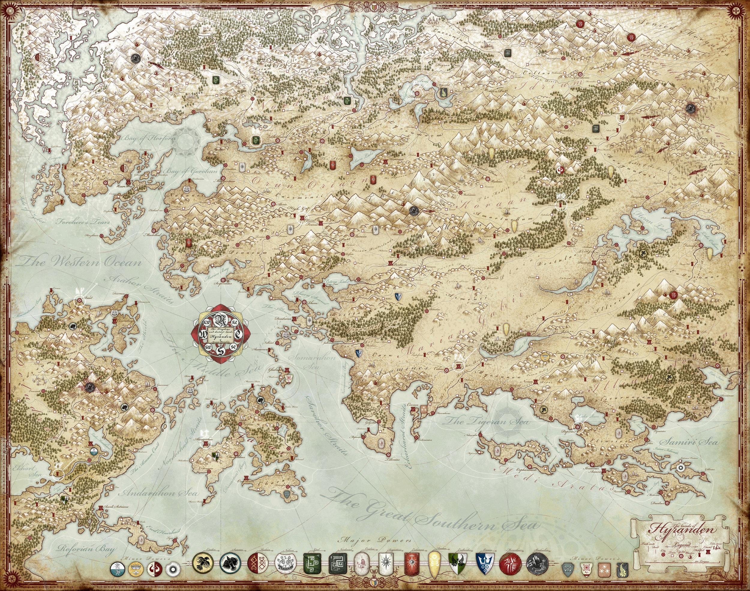 Hyranden: The Western Lands
