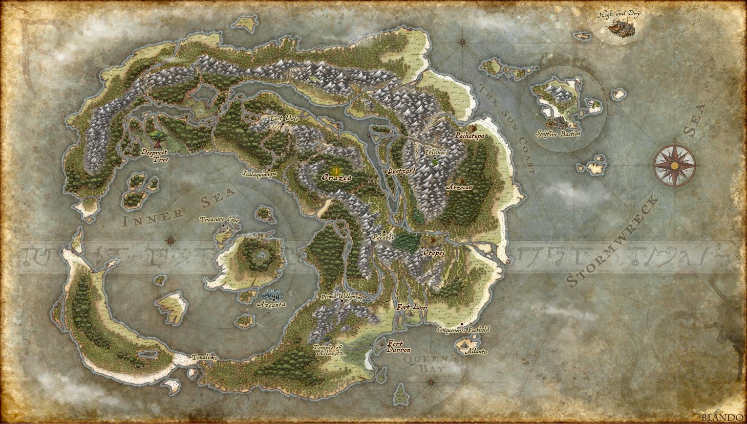 The Lands of Ixalan