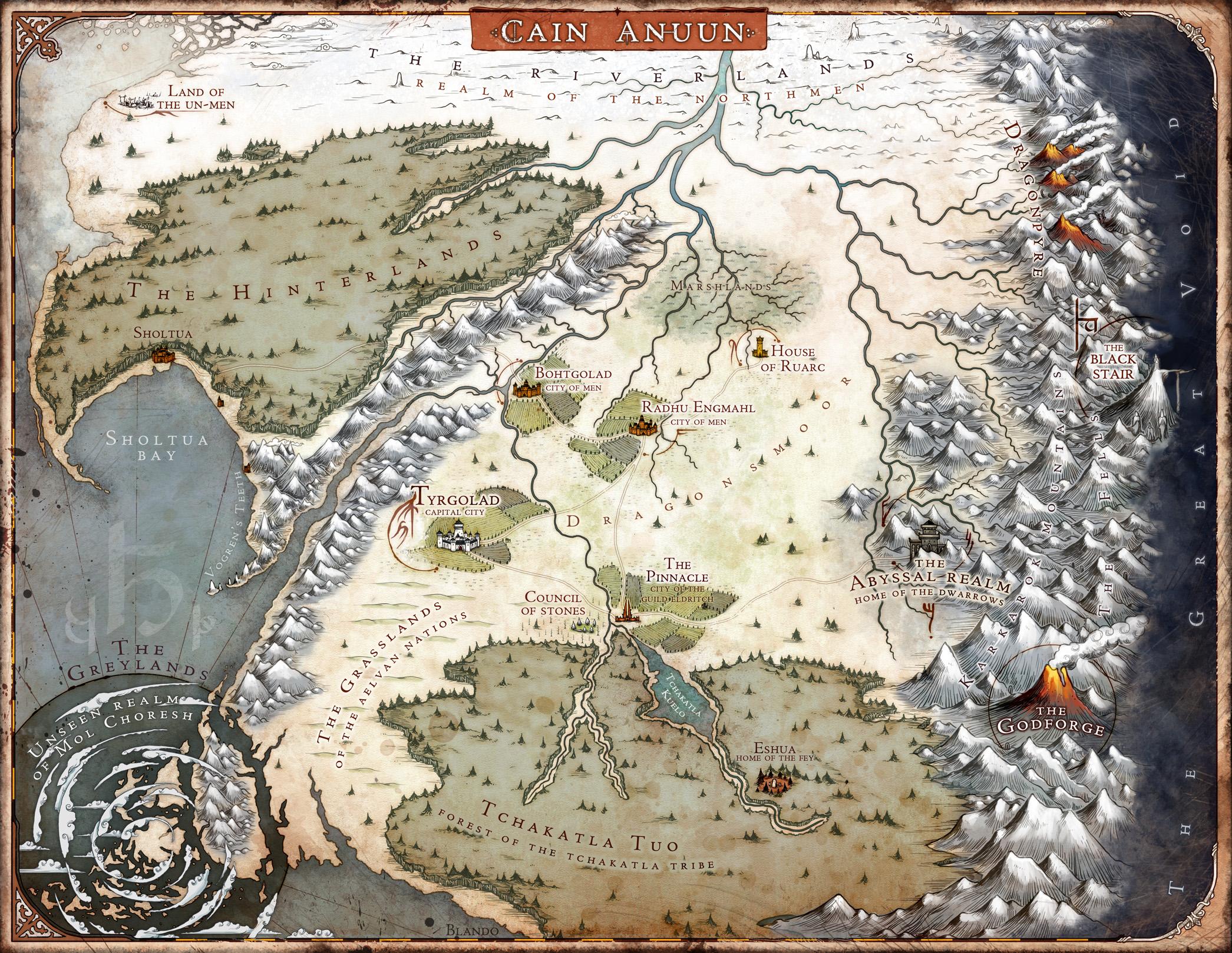 World Map: The Last God