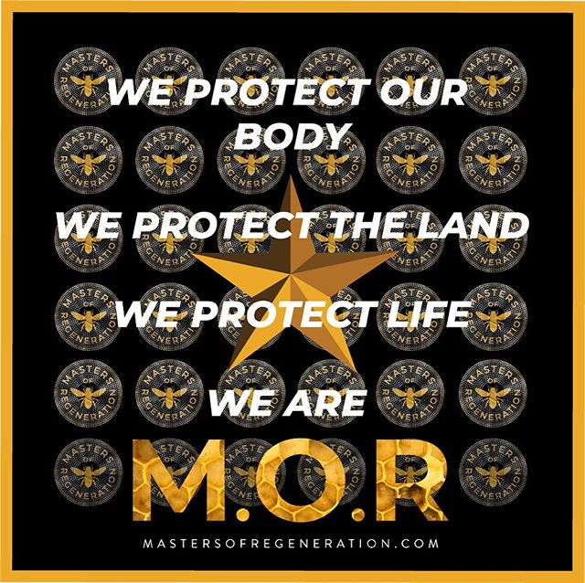 We protect our body  We protect the land  We protect life  We are @mastersofregeneration . Listen to M.O.R Radio on iTunes/Apple Podcasts, Spotify, YouTube, Stitcher . . #mastersofregeneration #podcast #radio #Protectorsofthenaturalworld #coalition #