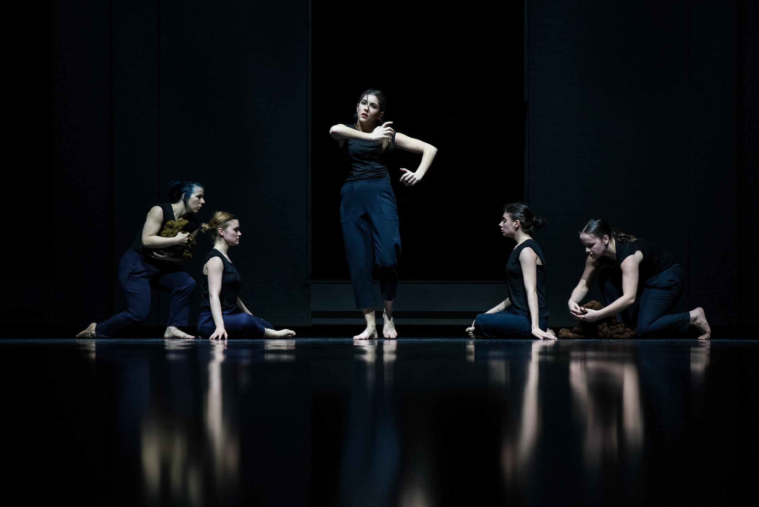 UQAM dance final, 2017