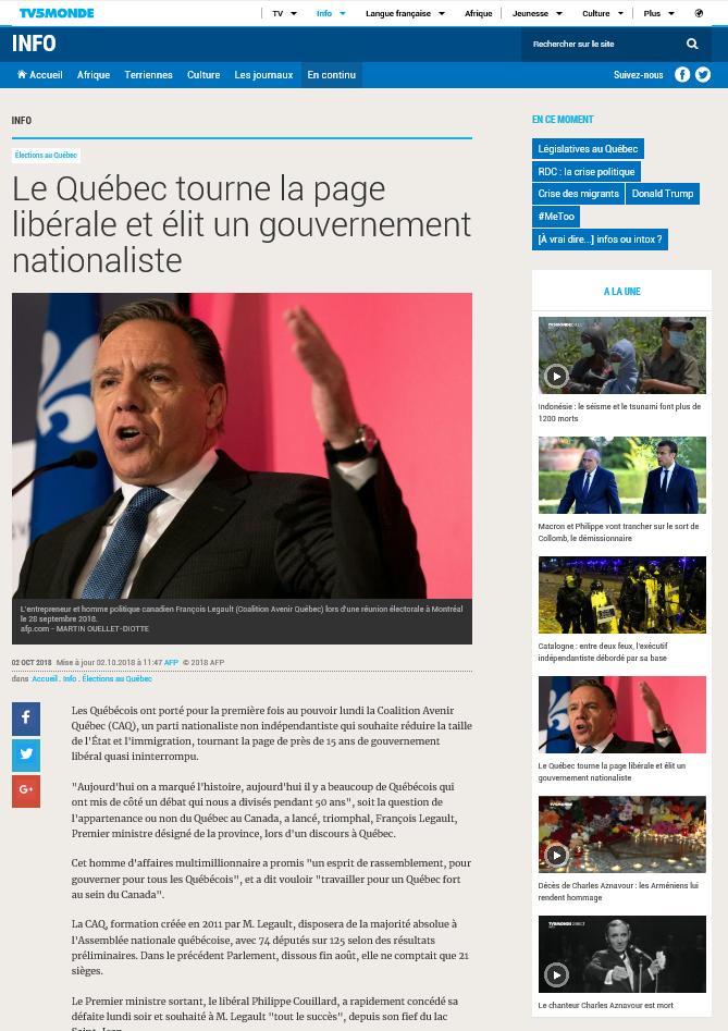 2018-10-02 16_40_10-Le Québec tourne la page libérale et élit un gouvernement nationaliste - Interne.png
