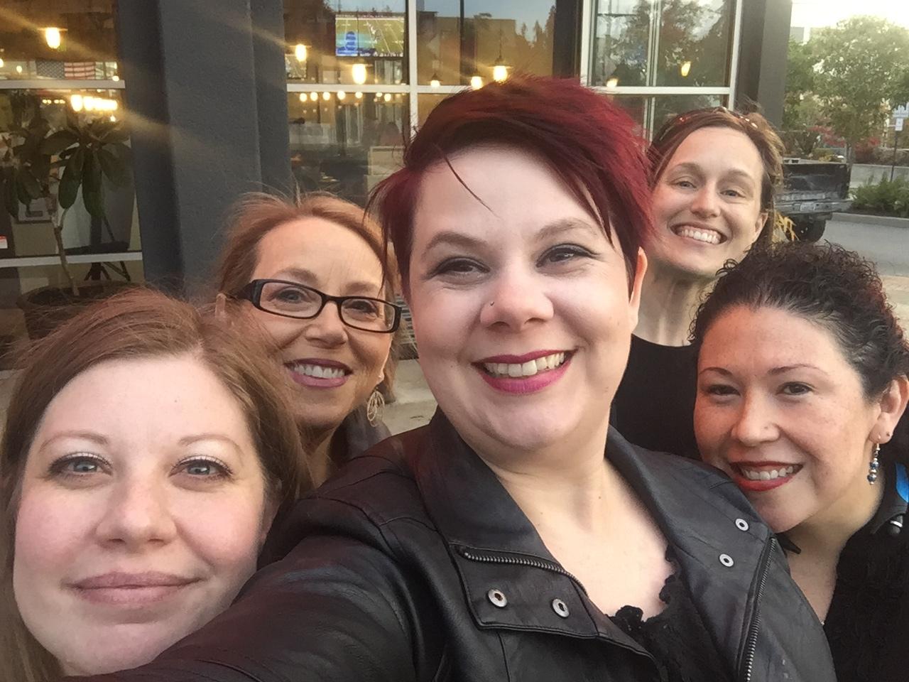 Amber, Diane, (Elaine), Amanda, Erica