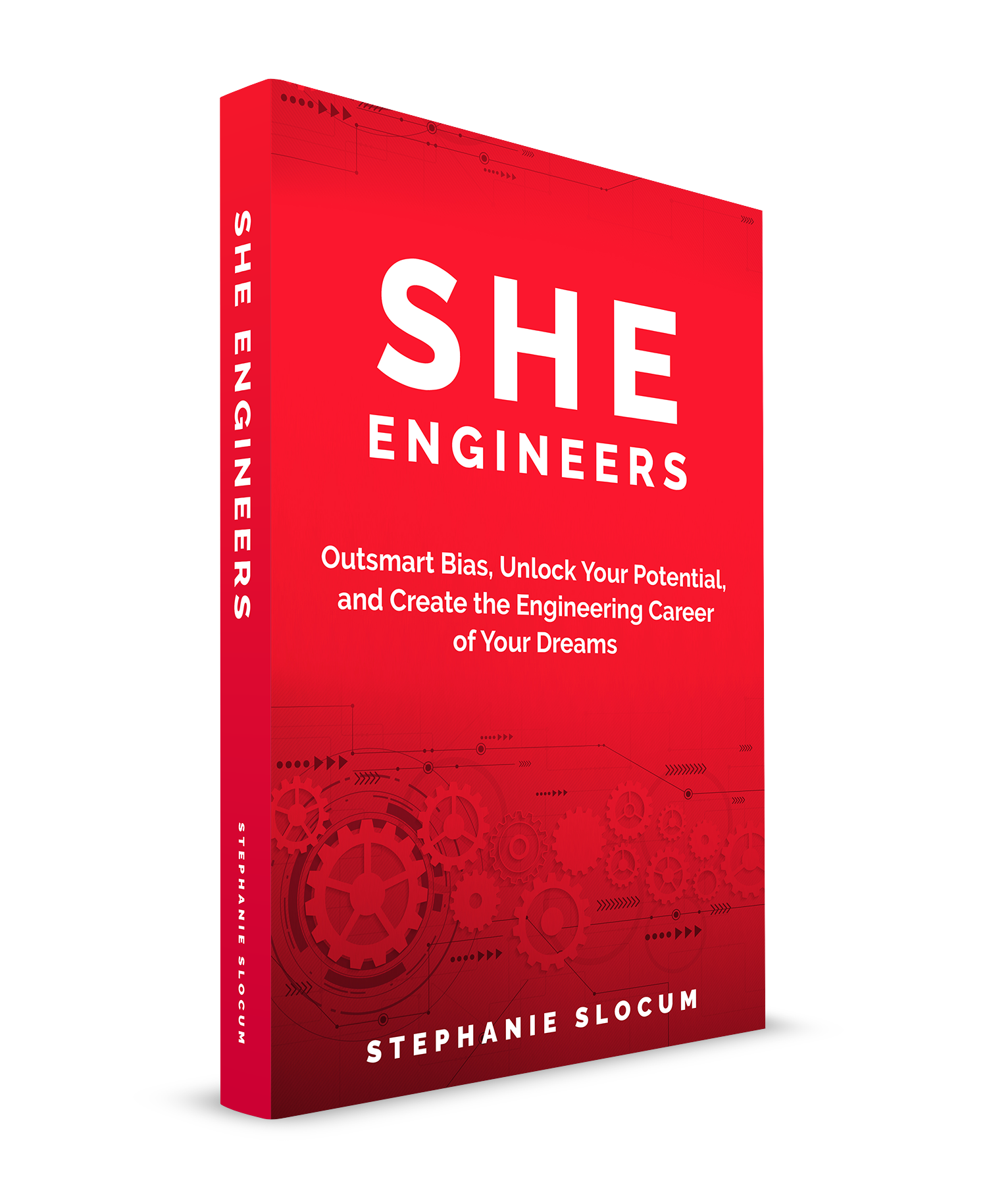 She Engineers - Imagine a life where YOU choose your own career path. You love what you do. You are an influencer, a go-to person at your company and in your field. You aren't working ridiculous hours. You have a life outside of work. You may even have a couple of young children if you so choose, while still enjoying a well-paying, impactful career in engineering.Sound like a pipe dream?It's not. This book will show you how.As a fifteen-year engineering industry veteran and mom of 3 daughters, Stephanie uses a conversational and down-to-earth approach to teach you how to succeed as a female engineer.