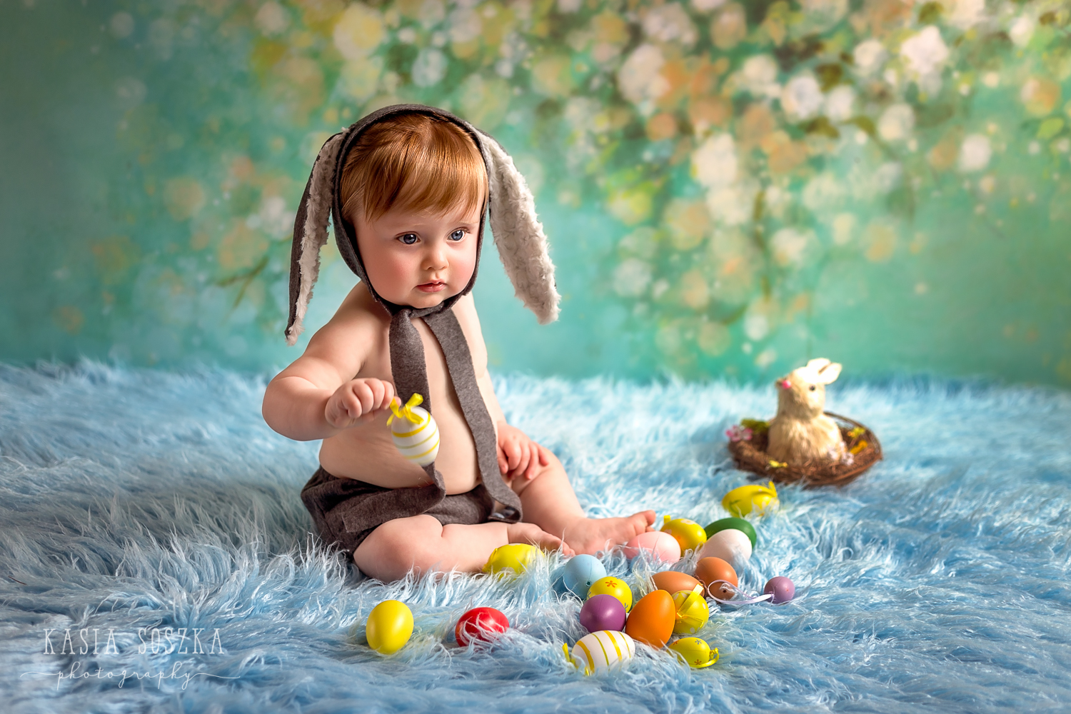Leeds Easter baby session