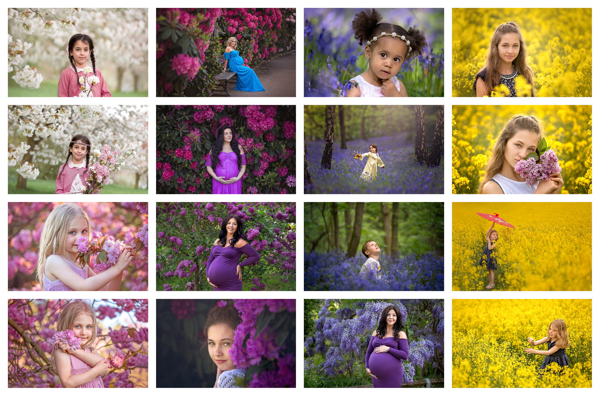 Portrait photography Leeds, maternity, family and child photographer in Leeds, Yorkshire: spring blossom outdoor sessions 2019