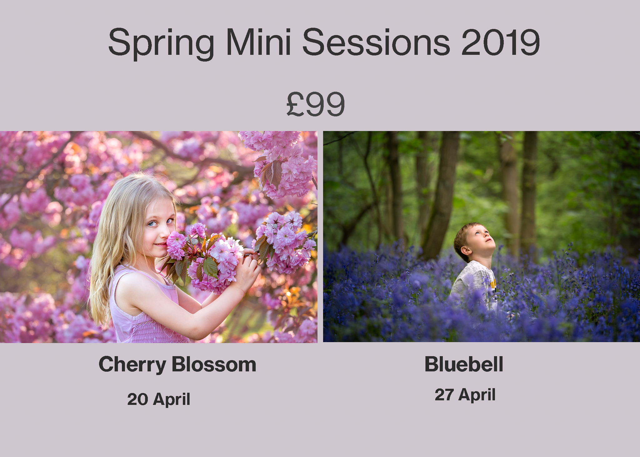 Spring Mini sessions 2019 in leeds, yorkshire