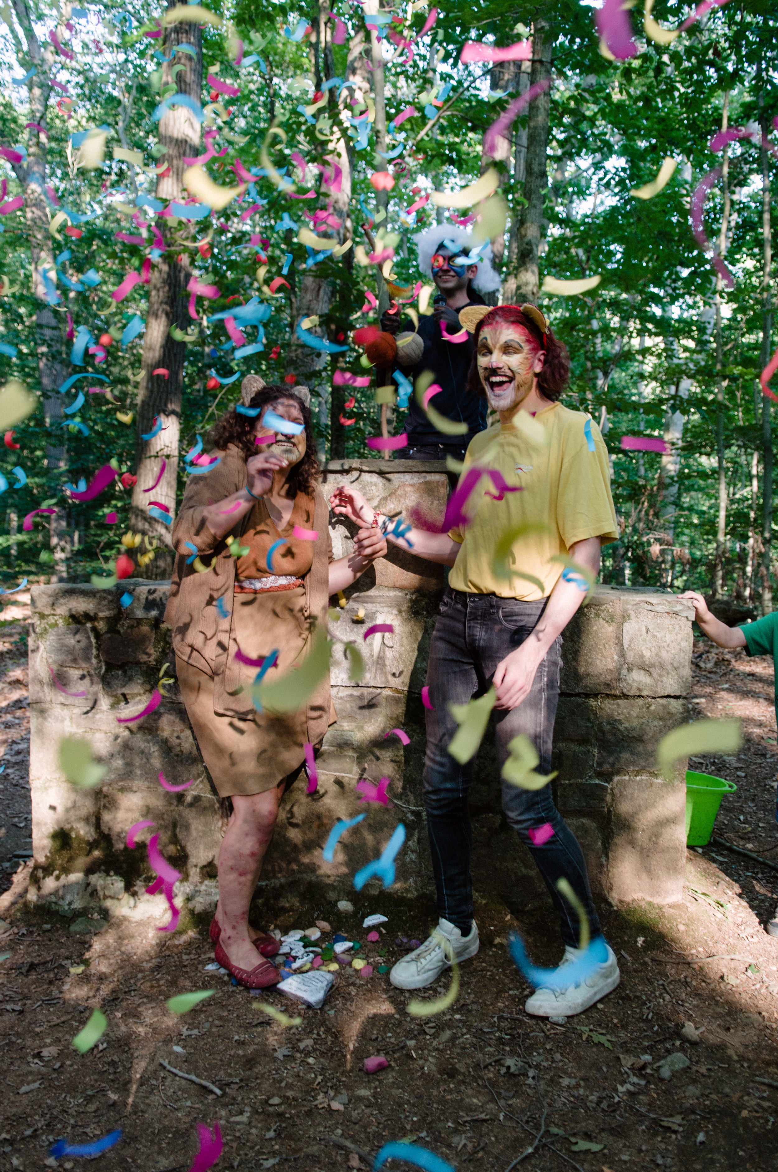 Our wacky wedding week is always hilarious! This tradition has brought together fake camp couples for over a decade!  In addition this season is slime, slime and more slime.