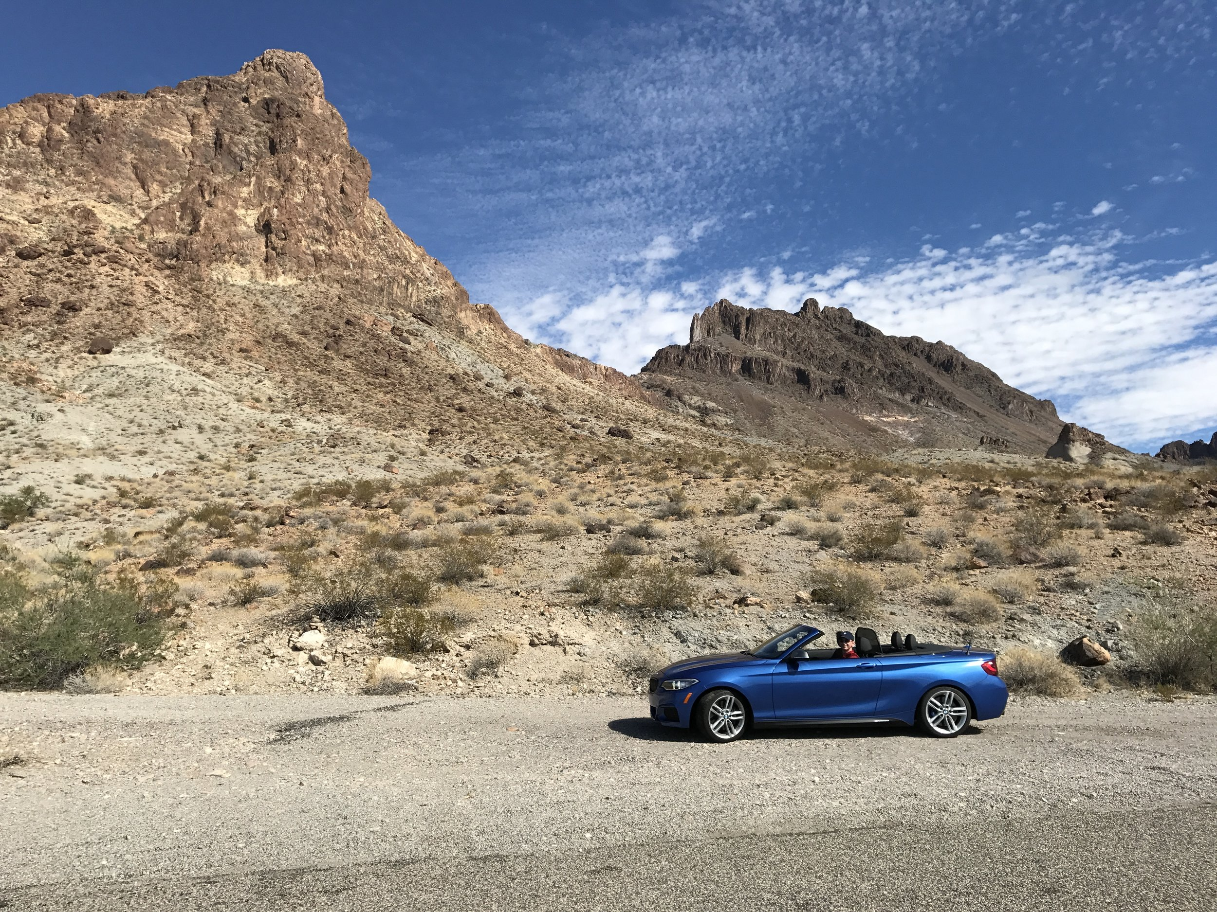The Desert and the BMW