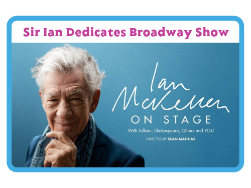Link to Sir Ian McKellen on Broadway show