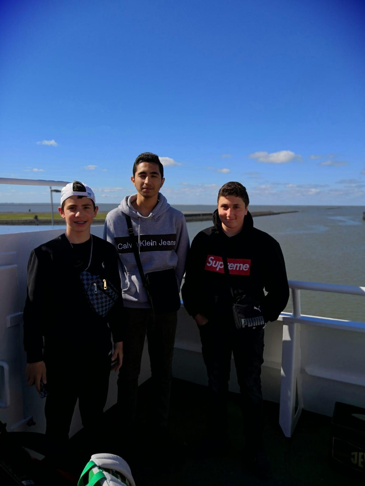 Auf der Fähre nach Norderney