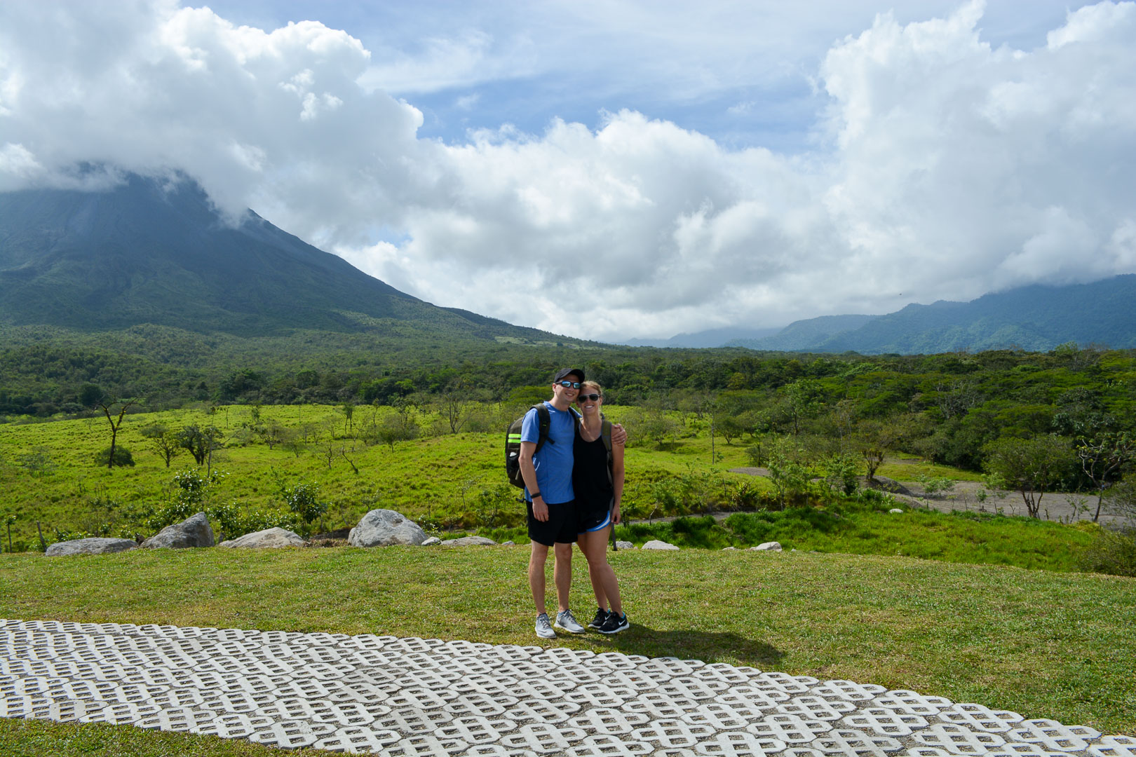 """The """"hikes"""" here weren't strenuous but man they had some gorgeous views-Arenal 1968 Park"""