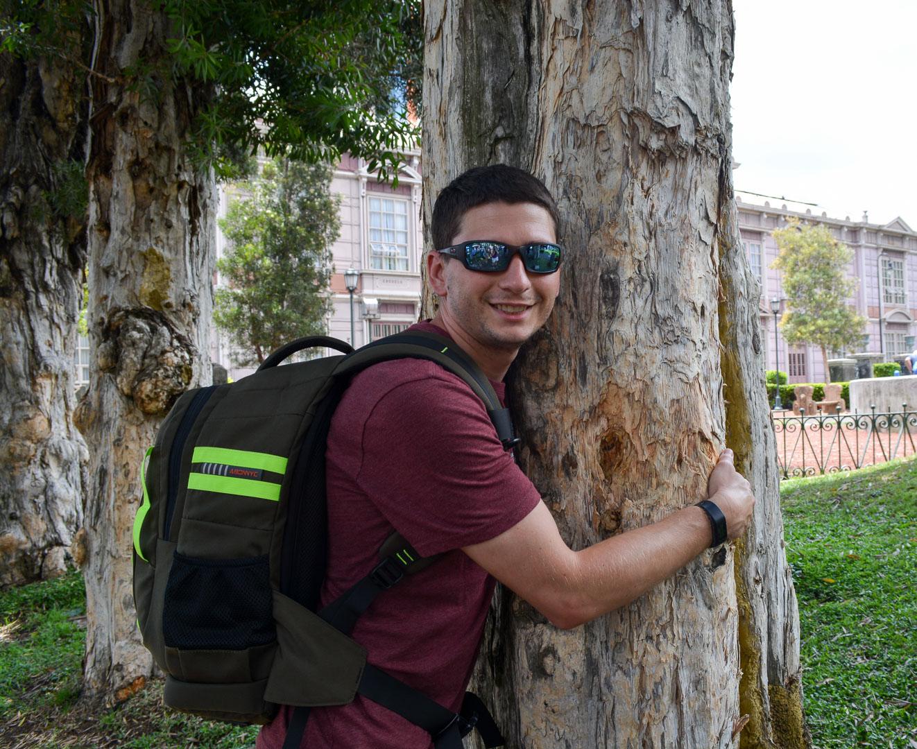 The very huggable cork tree