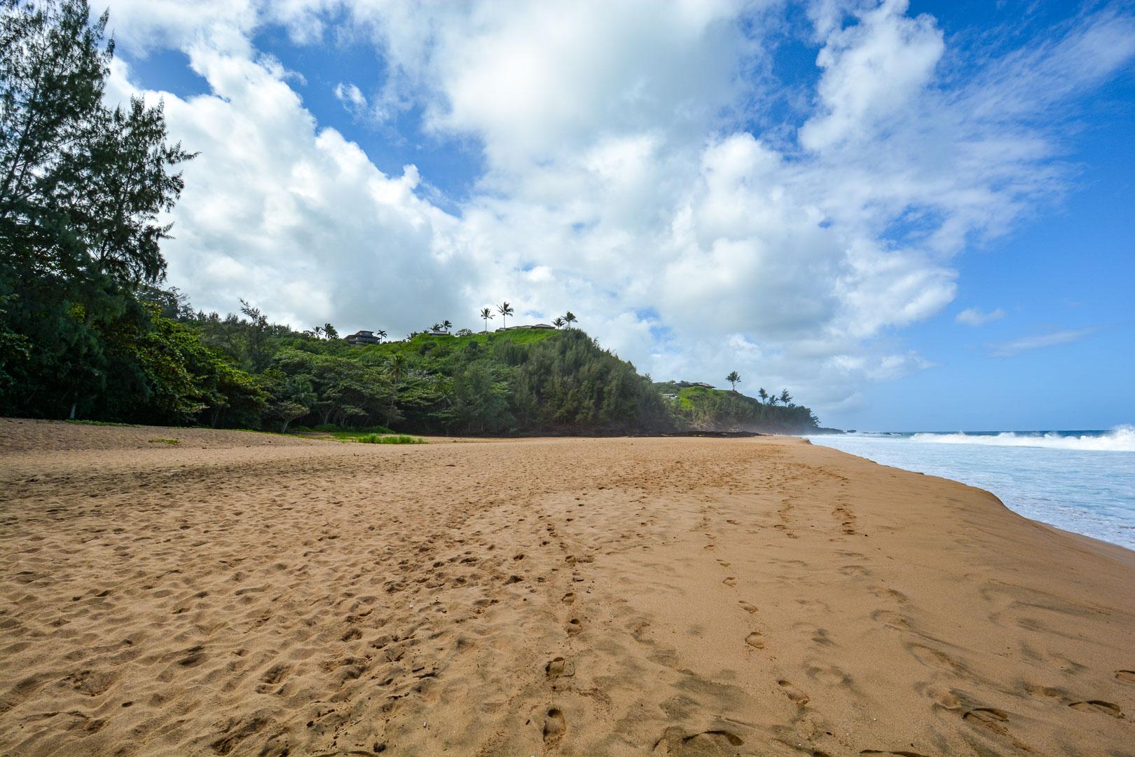 Secret Beach—all ours!