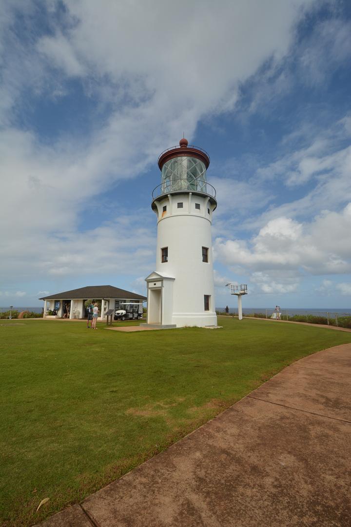 The Kilauea Point Lighthouse