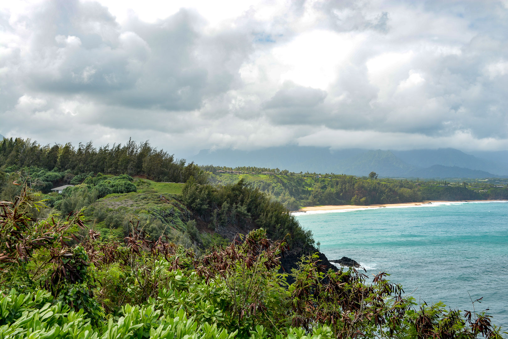 A view of Secret Beach from the Lighthouse!
