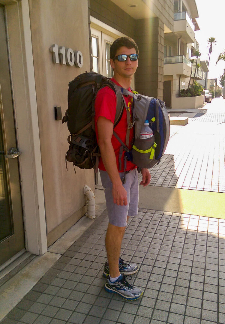 Walking around in our backpacks we got stopped by several residents wondering if we were backpacking the world!