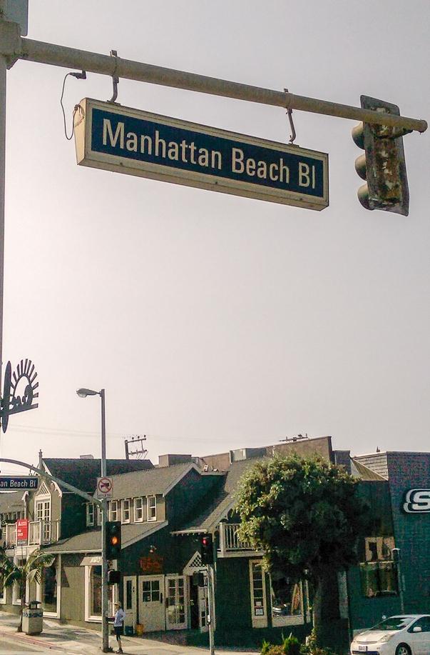 Layover in LA—we ventured to Manhattan Beach